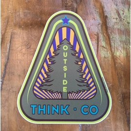 Long Pine - Think CO Sticker