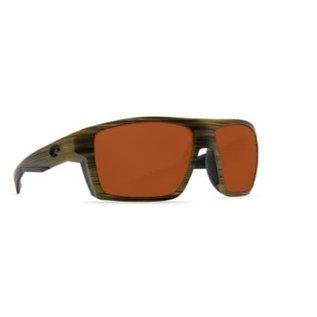 Costa Del Mar Costa Bloke Matte Verde Teak Black Frame - 580P - Silver Mirror Copper (XL)