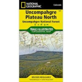 National Geographic National Geographic Maps Uncompahgre Plateau  - North