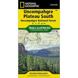 National Geographic National Geographic Maps Uncompahgre Plateau  South