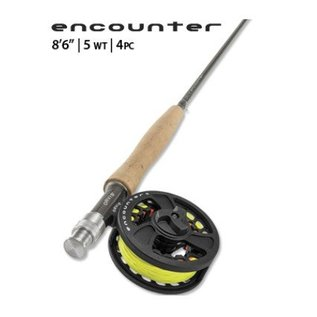 """Orvis Orvis Encounter Rod/Reel Outfit - 865-4 - 4 PC - 5WT - 8'6"""""""