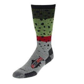Rep Your Water Rep Your Water Socks - Rainbow Trout Skin- Large
