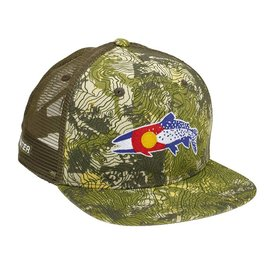 f643f90f0f369 Rep Your Water Rep Your Water Hat - Colorado Clarkii - Camo Green