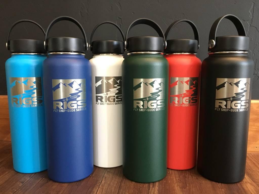 f45e5174a2 Hydro Flask Hydro Flask 40 oz - RIGS Logo - Wide Mouth Flex Cap ...