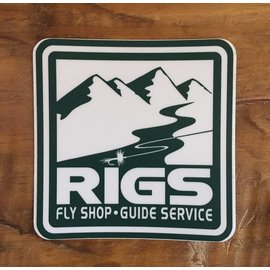 RIGS RIGS Fly Shop Sticker