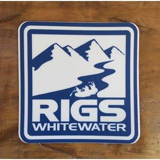 RIGS Whitewater Sticker