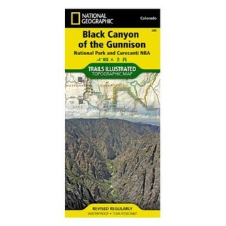 National Geographic Maps Black Canyon of the Gunnison National Park and Curecanti NRA - #245