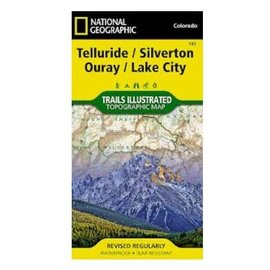National Geographic National Geographic Maps Telluride, Silverton, Ouray, Lake City - #141