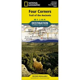 National Geographic National Geographic Maps Four Corners Region - Trail of the Ancients