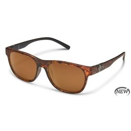 Suncloud Scene - Polarized Polycarbonate Blackened Tortoise/Brown