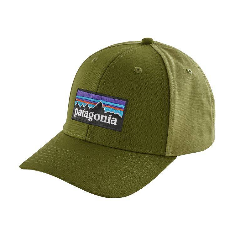 Patagonia P-6 Logo Roger That Mid Crown Hat - Sprouted Green - RIGS ... dd1a70629e81