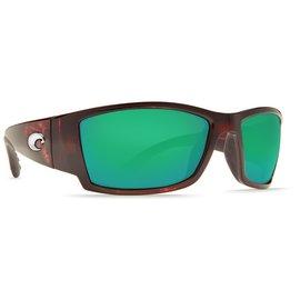 Costa Del Mar Costa Corbina Green Mirror - 580P - Tortoise Frame (L)