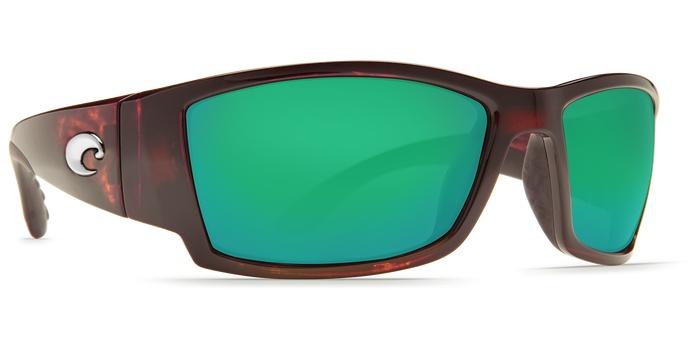 11327eb24c Costa Del Mar Costa Corbina Green Mirror - 580P - Tortoise Frame (L)