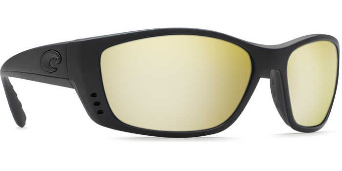 46110aca5 Costa Del Mar Costa Fisch Sunrise Silver Mirror - 580G - Blackout Frame (XL)