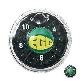 Dinsmores DINSMORE-GRN EGG 4-MICRO-4,6,8,10