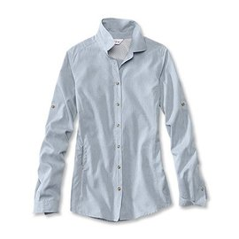 Orvis Orvis Women's Tech Chambray - Blue
