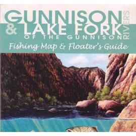 Shook Publishing Gunnison River & Lake Fork Map