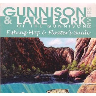 Shook Publishing Gunnison River & Lake Fork Map