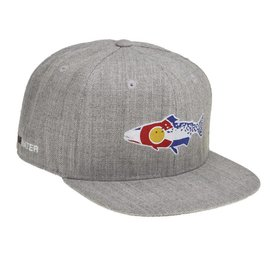 0fa8cc6e91158 Colorado Cutthroat Full Cloth Hat - Heather Gray