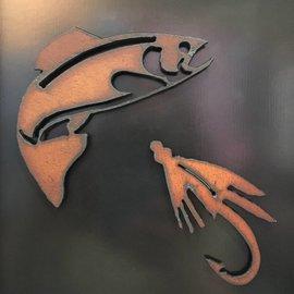 Woodgate Art Studio Woodgate Art Studios Magnet - Trout & Wet Fly