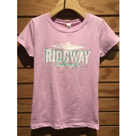 Ridgway Colorado Youth Princess Tee - Lilac
