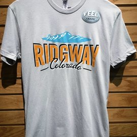 Ridgway Colorado Logo Tee - Light Grey