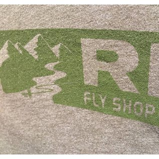 RIGS RIGS Tri Blend Tee - Military Green