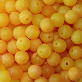 6mm TroutBeads Gold Roe - 50 Count