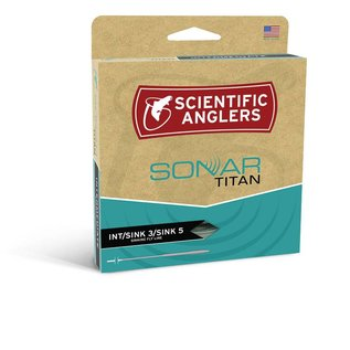 Scientific Anglers Sonar Stillwater Fly Line - Pale Green/Olive/Charcoal  WF-5-S INT/S3/S5
