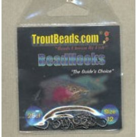 Trout Beads Troutbeads size 12 - 25 pack BeadHooks