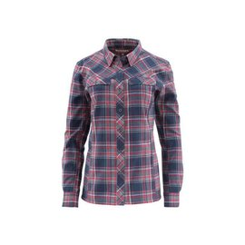 Simms Fishing Simms Primaloft Blend Flannel - Admiral Blue Plaid