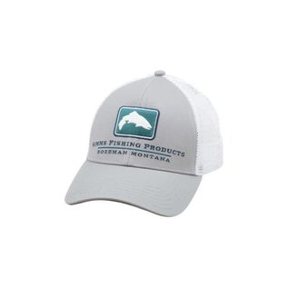 Simms Fishing Simms Small Fit Trout Icon Trucker Granite