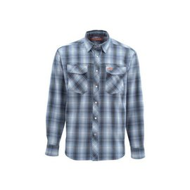 Simms Fishing Simms Gallatin Flannel Shirt - Dark Moon Plaid