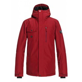 Quiksilver Quiksilver - MISSION SOLID Jkt - Tomato Red -