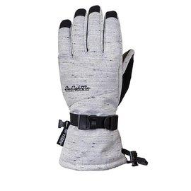 686 686 - PAIGE Glove - Wht Slub -
