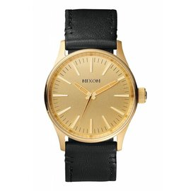 Nixon Nixon - SENTRY 38 LEATHER - Gold/Black