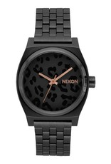 Nixon Nixon - TIME TELLER - All Black Cheetah