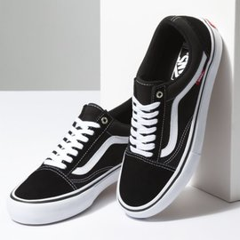 Vans - OLD SKOOL PRO - Black/White -