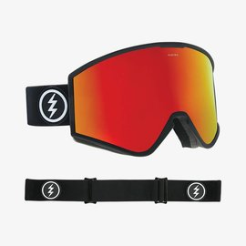Electric Visual Electric - KLEVELAND - Matte Black w/ Red Chrome + Bonus Lens