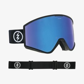 Electric Visual Electric - KLEVELAND - Matte Black w/ Blue Chrome + Bonus Lens