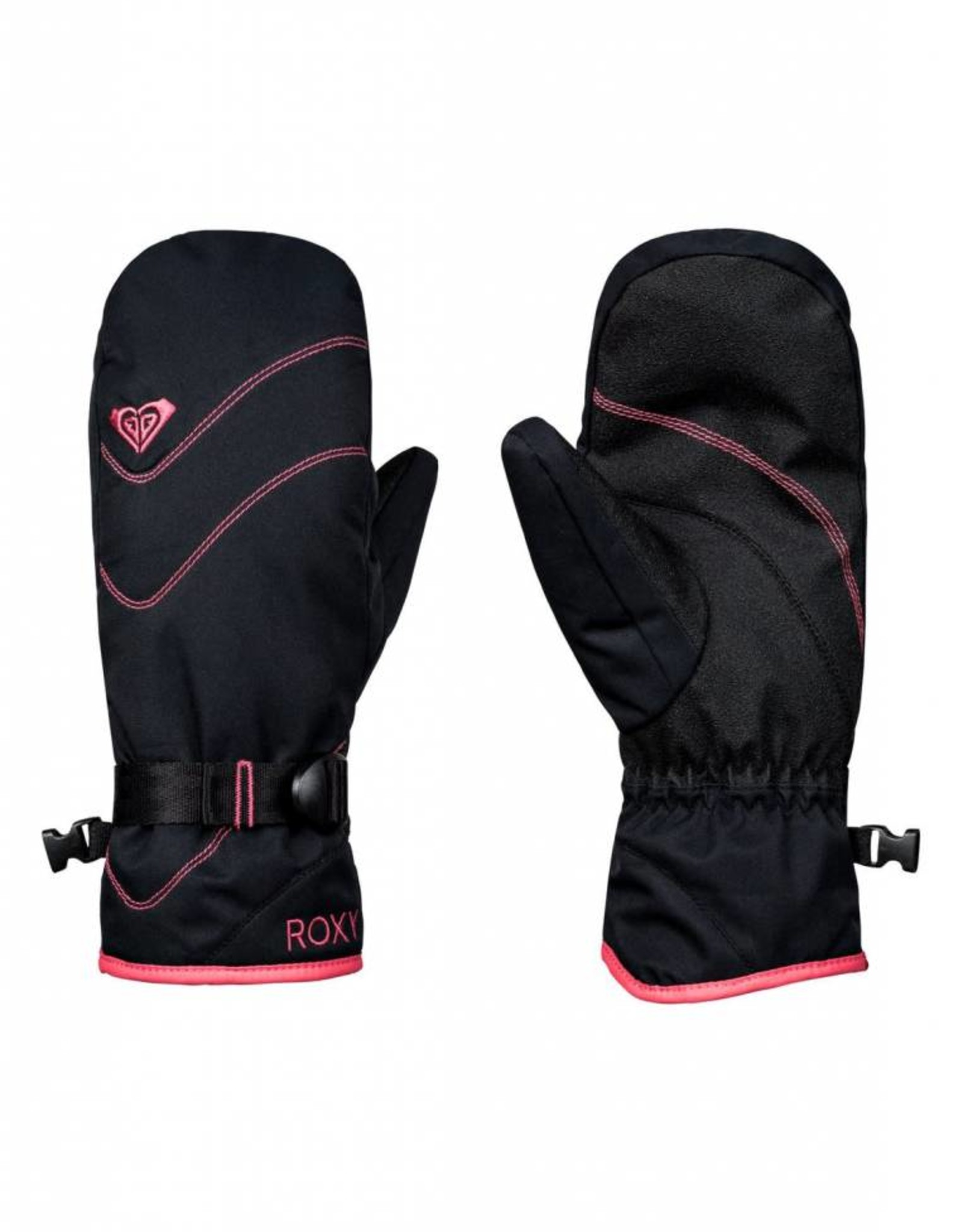 Roxy Roxy - JETTY SOLID MITT - Black -