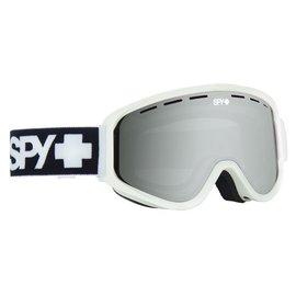 SPY Spy - WOOT - Matte White w/ Silver Mirror + Bonus Lens