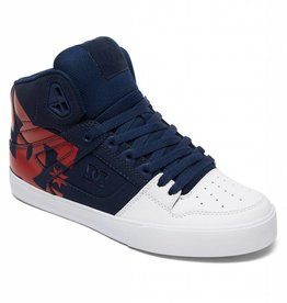 DC DC - Yth PURE HIGH-TOP SP - Nvy/Gry -