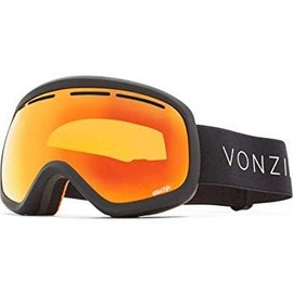 Von Zipper VZ - SKYLAB - Black Satin w/ Fire Chrome + Bonus Lens
