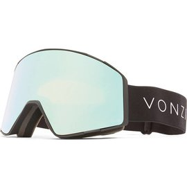 Von Zipper VZ - CAPSULE - Black Satin w/ Stellar Chrome + Bonus Lens