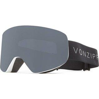 Von Zipper VZ - ENCORE - White Satin w/ Blackout