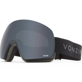 Von Zipper VZ - SATELLITE - Black Satin w/ Blackout + Bonus Lens