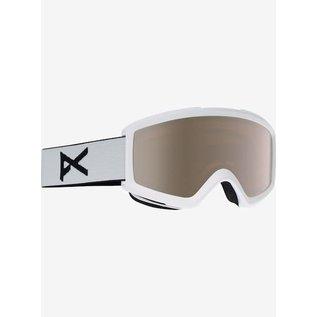 Anon Anon - HELIX 2.0 - White w/ Silver Mirror + BONUS Lens