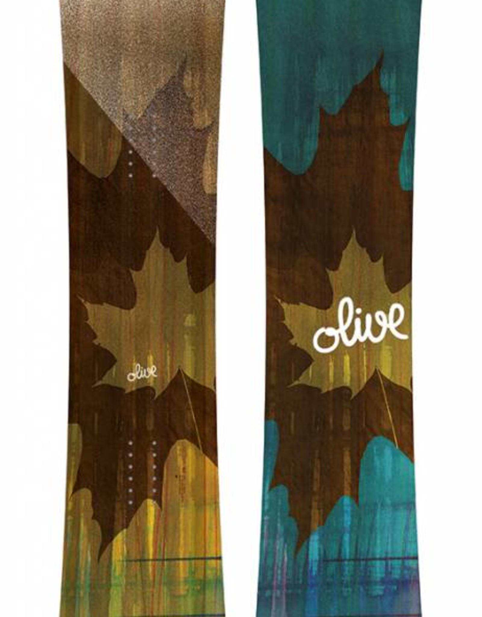 OLIVE Olive - TWIN LOGO (2019) - 154cm