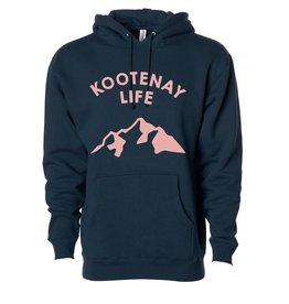 Kootenay Life Kootenay Life - ADVENTURE Hoody - Blk/Pnk -